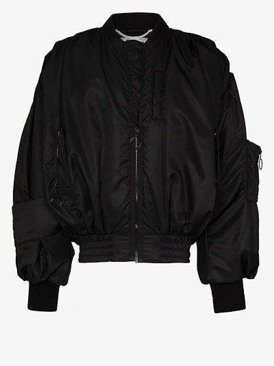 Pascal print bomber jacket