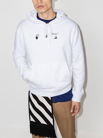 Peace Worldwide print hoodie
