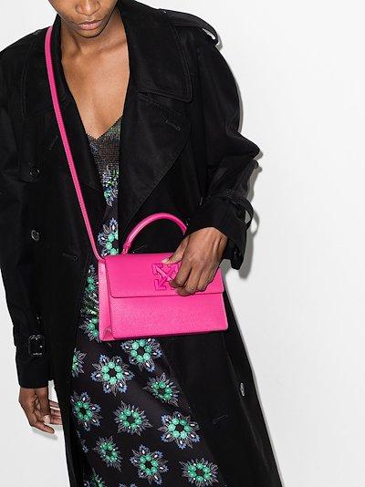 pink Jitney 1.4 top handle bag
