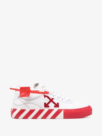 white Arrows vulcanized low top sneakers