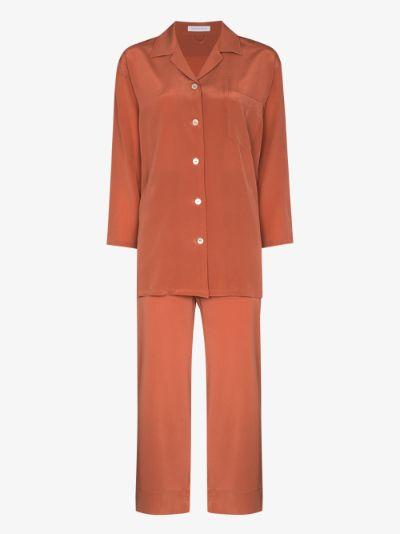Casablanca silk pyjamas