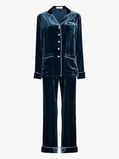 Coco Astor velvet pyjamas