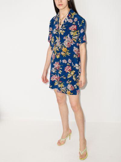 Emeli Arlequine printed silk pyjamas