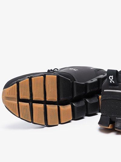Black Cloud Terry sneakers