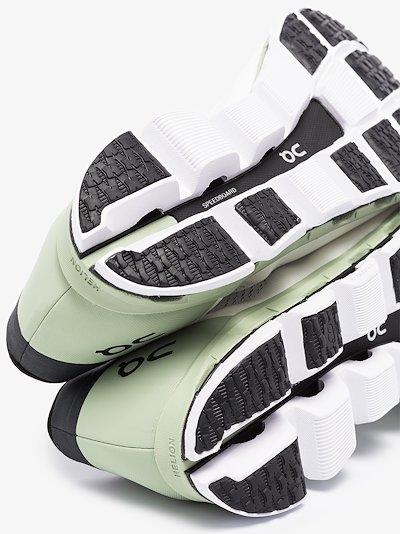 Green Cloudboom sneakers