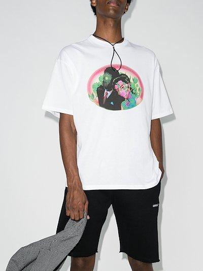 Figures print T-shirt