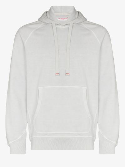 Francis raglan-sleeve hoodie