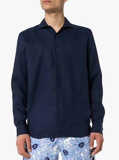 Giles linen long sleeve shirt