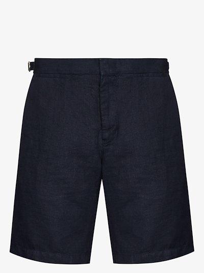 Norwich linen bermuda shorts
