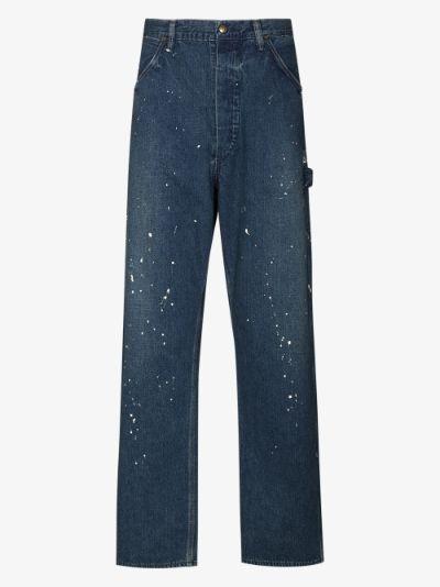 painter straight leg jeans
