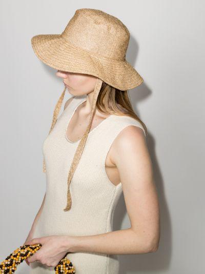 gold Lumière bucket hat