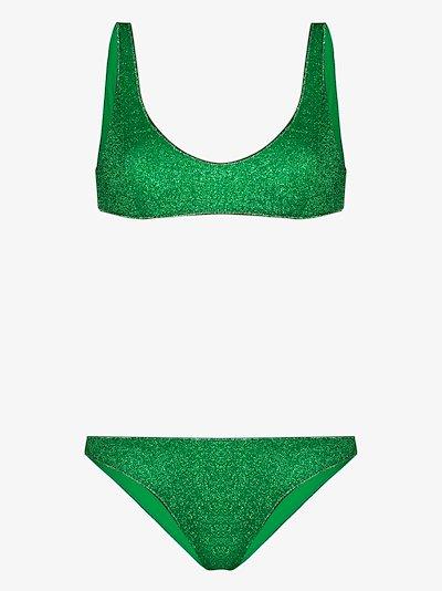 Lumière Sporty Metallic Bikini