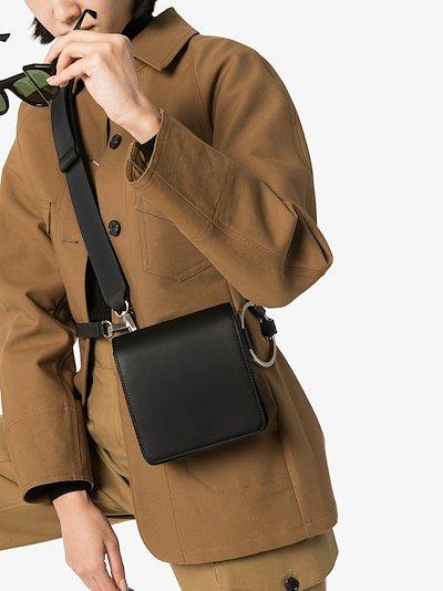 black Holring leather belt bag