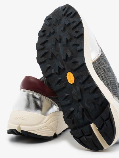 Grey Mono runner sneakers