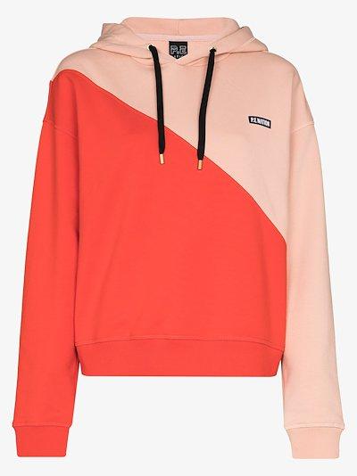 Amplitude colour block hoodie