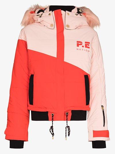 Amplitude hooded ski jacket