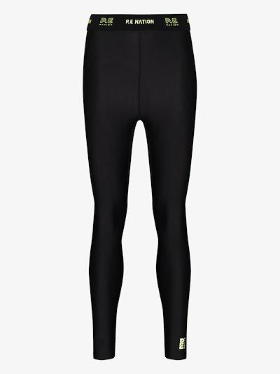 Line Point leggings cropped leggings