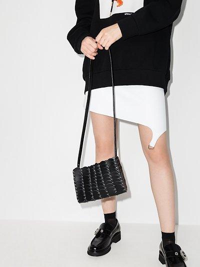black Pacoïo leather cross body bag