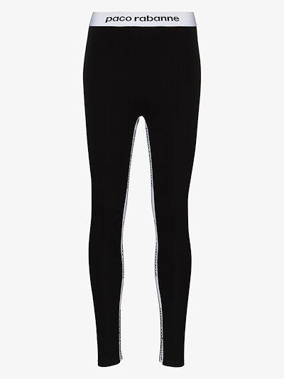 bodyline logo stripe leggings