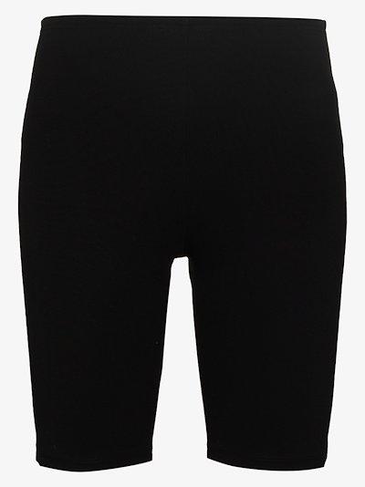 Milano logo print cycling shorts
