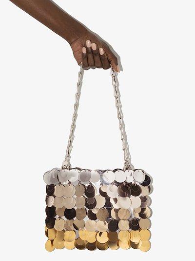Silver tone Sparkle shoulder bag