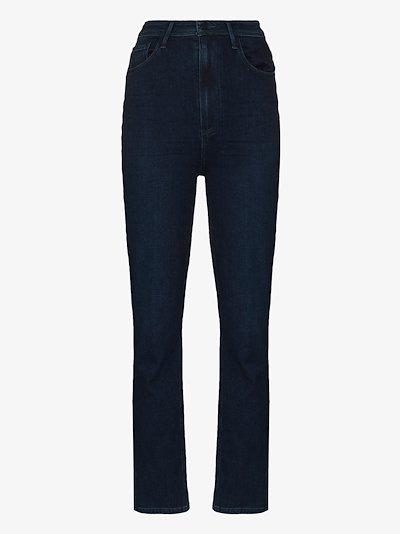 Cindy ankle slit jeans