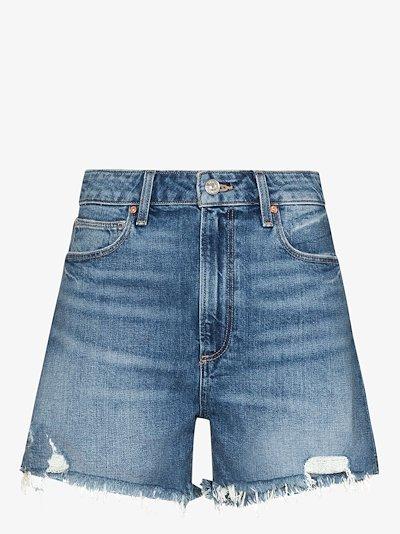 Dani high waist denim shorts