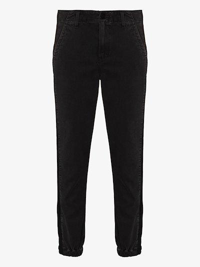 Mayslie Velvet Insert Jogger Jeans