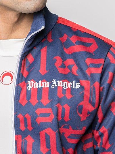 broken monogram track jacket