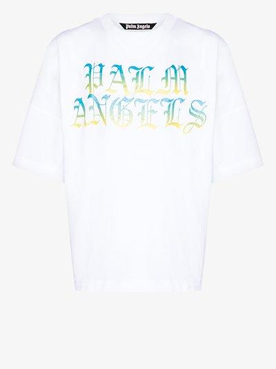 Hue gothic logo print t-shirt