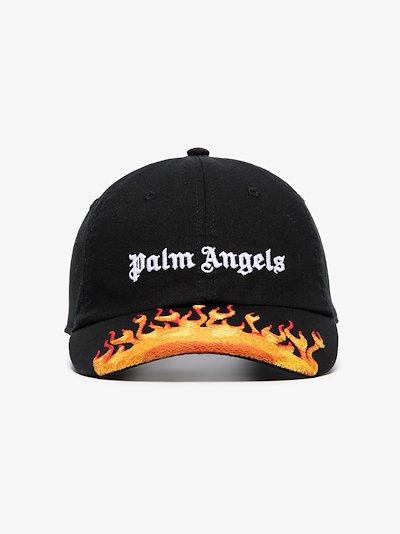 jacquard flames logo cap
