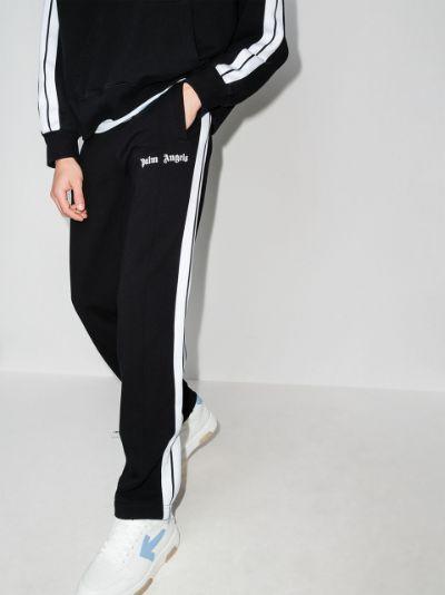 logo-print track pants