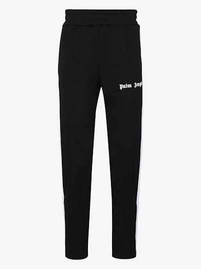 slim side stripe track pants