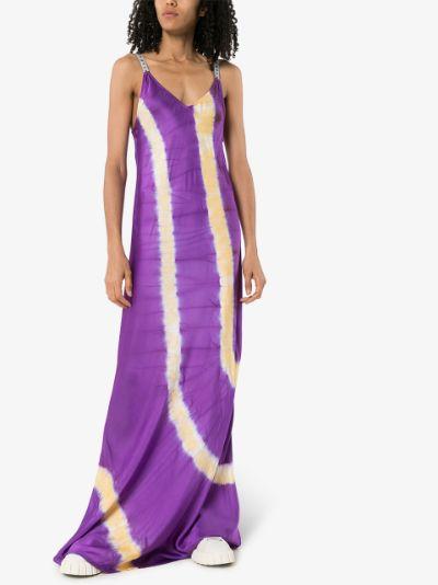 tie-dye slip dress