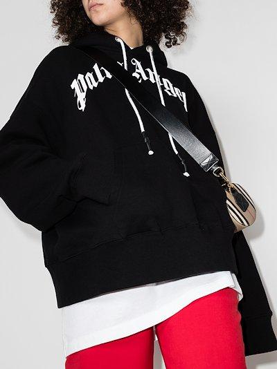 X Browns 50 bear appliqué hoodie