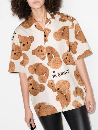 X Browns 50 bear bowling shirt