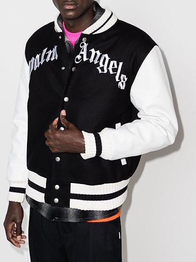 X Browns 50 bear motif varsity jacket