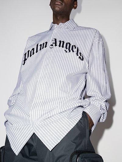 X Browns 50 striped bear print shirt