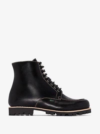 black Beaulieu ankle boots