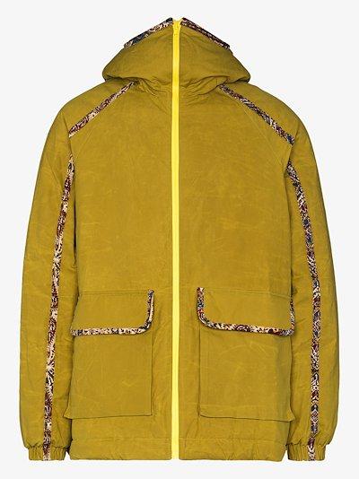 Close up Olivine hooded jacket