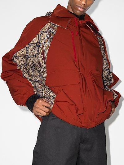 Gery panelled jacket