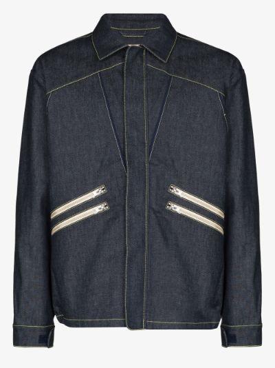 hunting denim jacket