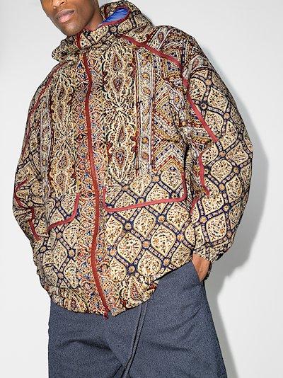 Infinium print GORE-TEX track jacket