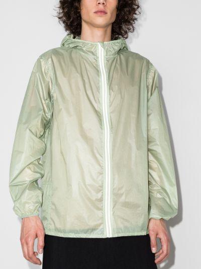 packaway hooded jacket