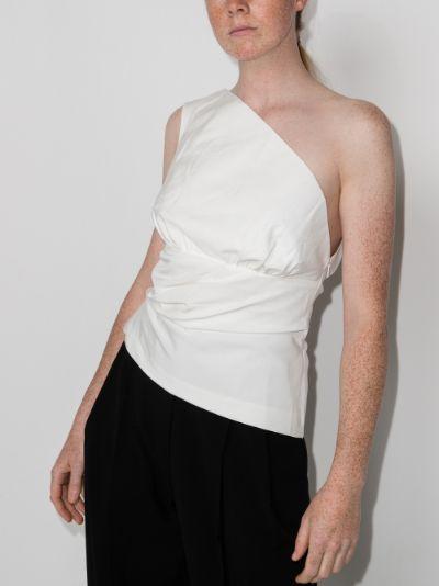 lula one shoulder top