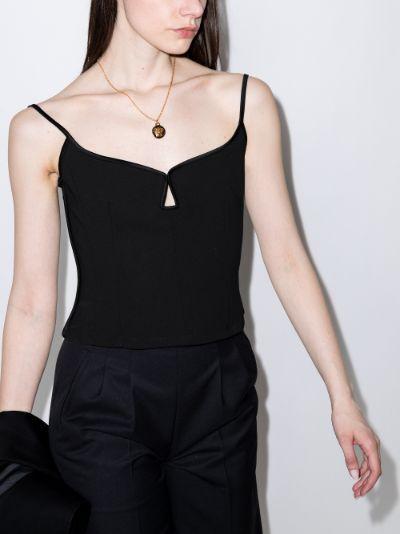 Marlo cutout camisole top