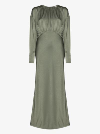 Theodora long sleeve maxi dress