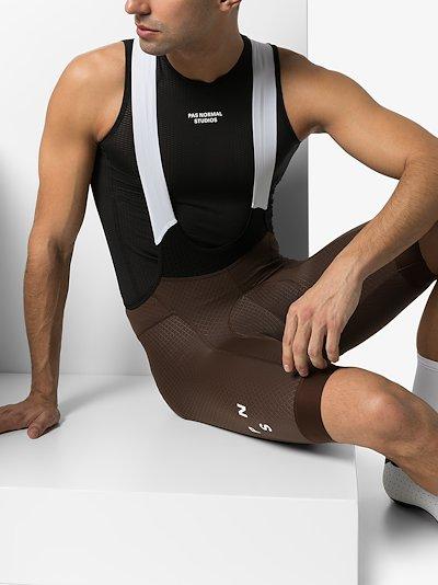 black control heavy sleeveless base layer