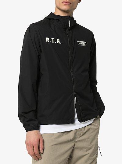 black Off Race hooded jacket