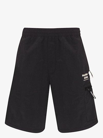 black Off Race Shield shorts